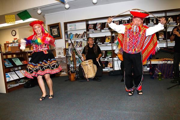 9-27-2014 PERUVIAN DANCE - LIBRARY E.L.A.