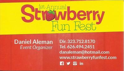 5-17-2015 STRAWBERRY FESTIVAL - DANIEL ALEMAN
