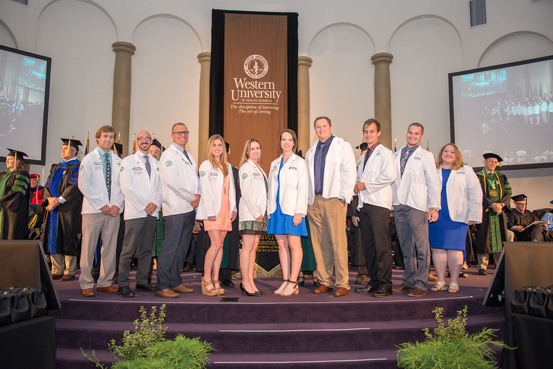 COMP-Northwest Convocation white coat