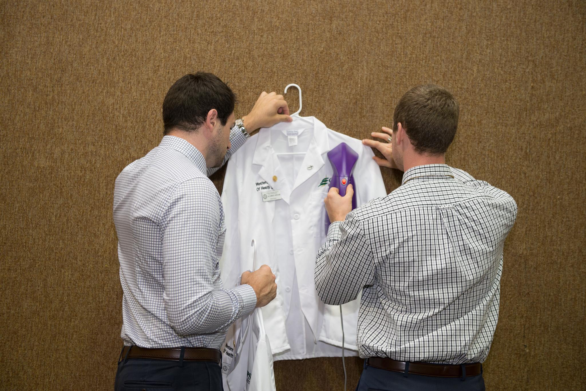 COMP-Northwest Convocation white coat