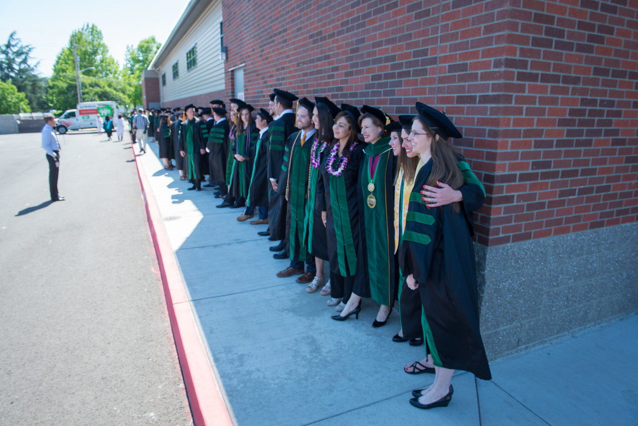 COMP-Northwest inaugural Commencement Exercise