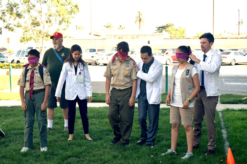 COMP Scouts Service Learning disabilities project