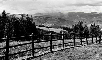AWARD - LEVEL 1 - MONOCHROME DIGITAL - VIEW FROM BEAVER CREEK - ROGER KELE