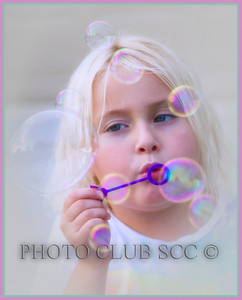 DIGITAL COLOR - LEVEL 2 - 2ND PLACE - BLOWING BUBBLES - BOBBIE RAY