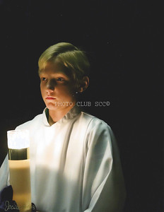 PRINT - COLOR - ADVANCED - 2ND PLACE - THE ALTAR BOY - JACKIE HANSON