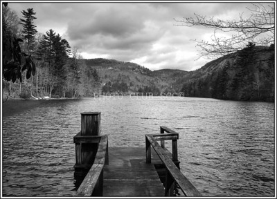 PRINT - MONOCHROME - MASTER - 2ND PLACE - THE LAKE - ROBERT WINCH