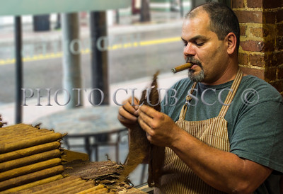 COLOR PRINTS - LEVEL 2 - 2ND. PLACE - YBOR CITY CIGAR ROLLER - ANDRE LEDOUX