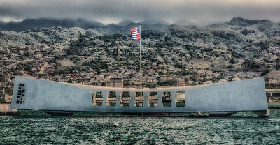 CREATIVE DIGITAL - GOLD - THE ARIZONA MEMORIAL - ALLEN MASER