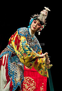 DIGITAL - COLOR - LEVEL 1 - GOLD - PEKING OPERA HOUSE WOMEN - ROBERT TRIVUS