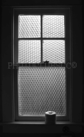 DIGITAL - MONOCHROME - ADVANCED - GOLD - OLD BATHROOM WINDOW - ROGER KELE