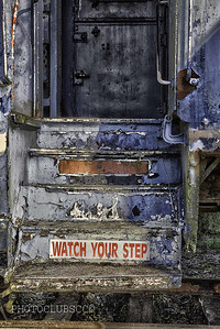 DIGITAL - COLOR - UNASSSIGNED - SILVER - WATCH YOUR STEP - PETER BATES