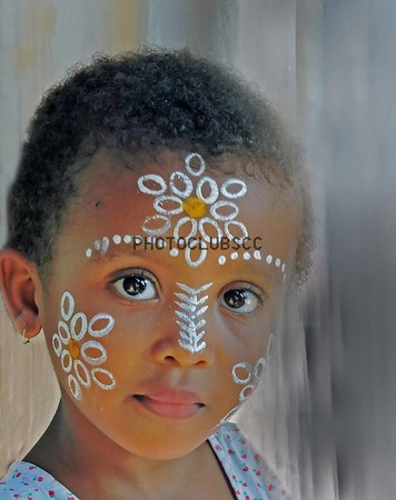 DIGITAL-COLOR-ADVANCED-GOLD-YOUNG AFRICAN GIRL-KATHY VITALE