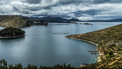 DIGITAL-COLOR-UNASSIGNED-GOLD-TRANQUILITY AND STORM LAKE TITICACA-CELIA STAPLES