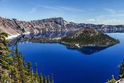DIGITAL-COLOR-MASTER-GOLD-EXCEPTIONAL BLUE OF CRATER LAKE-BOBBIE RAY