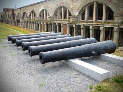 DIGITAL-COLOR-ADVANCED-SILVER-CANNONS AT FT. ADAMS- ERICA COLLINS