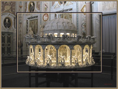 PRINTS-CREATIVE-GOLD-SURPRISE ZOETROPE AT BORGHESE-A.J. STEIRER