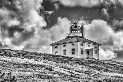 DIGITAL-MONO-MASTER-SILVER-IMPENDING STORM ON CAPE SPEAR-BOBBIE RAY