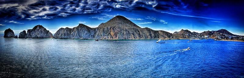 PRINT-COLOR-MASTER-GOLD-LANDS END, LOS CABOS, MEXICO-STAN LIPSKI