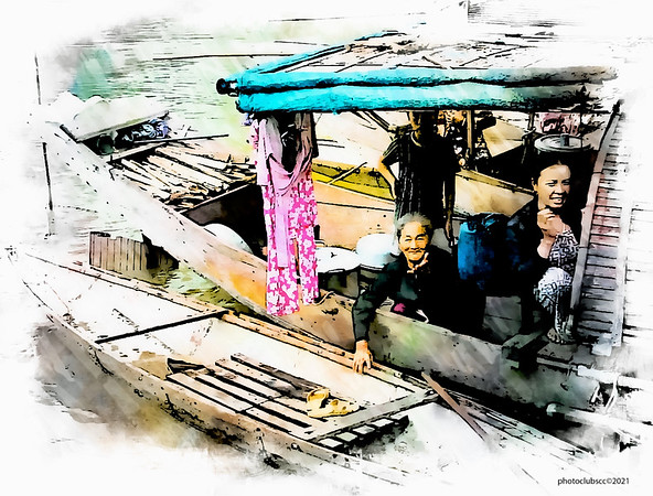 DIGITAL-CREATIVE-ADVANCED-GOLD-BOAT PEOPLE , VIETNAM-JIM WHEELER
