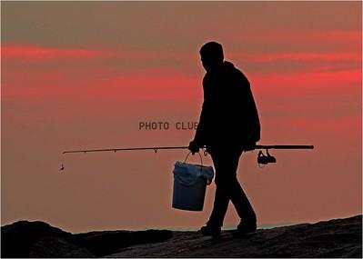 DIGITAL-COLOR--UNASSIGNED-GOLD-GOING FISHING-HAROLD SISKIN