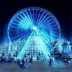DIGITAL-CREATIVE-GOLD-LA GRANDE ROUE-STAN LIPSKI