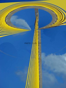 DIGITAL-CREATIVE-SILVER-SUNSHINE SKYWAY BRIDGE-ROSE STACK
