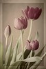 DIGITAL-CREATIVE-GOLD-VINTAGE TULIPS-BOBBIE RAY