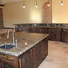 ISLAND WITH BAR SINK/POP UP ELECTRICAL RECEPTACLES