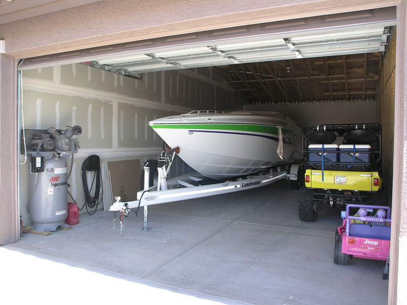 INSIDE PROTECTS A VERY LONG BOAT AND HAS PLENTY OF STORAGE!
