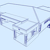PROPOSED ADDITION - OVERHEAD VIEW