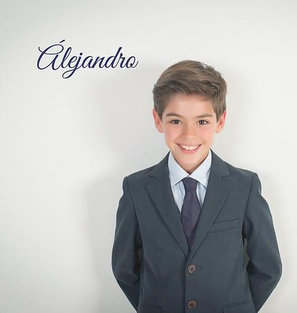 Álbum de Comunión, Alejandro