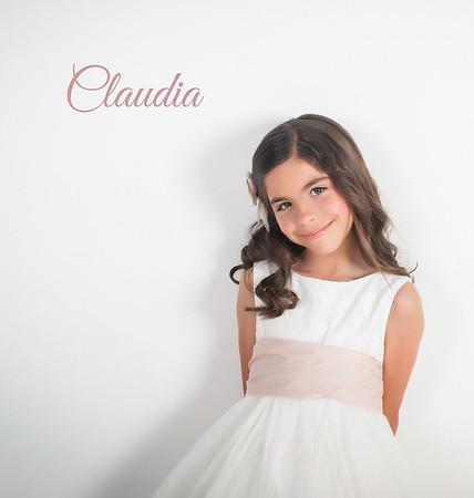 Álbum de Comunión, Claudia