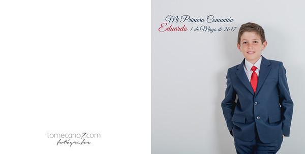 Álbum de Comunión, Eduardo