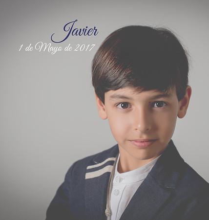 Álbum de Comunión, Javier