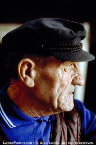 Urbaniak, the Birkenau caretaker, 1979.