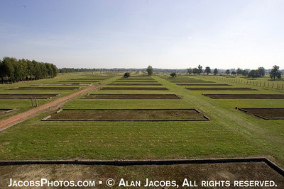 Kanada, Birkenau, 2004. These foundations are all that is left of the barrack/warehouses, used by the Nazis to sort and store the possessions stolen from victims arriving in cattle cars. Go to  http://www.ushmm.org photo archive and search for Kanada/ Birkenau. These are actual photos taken by the SS.