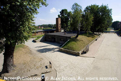 Krematorium I. Auschwitz I, 2004