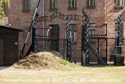 "Entrance to Auschwitz I. ""Work Makes Freedom"". 2004"