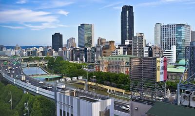 Osaka Nakanoshima View