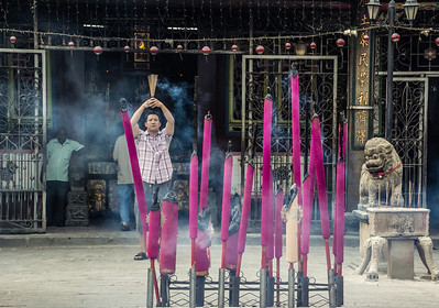 Penang Temple Ritual