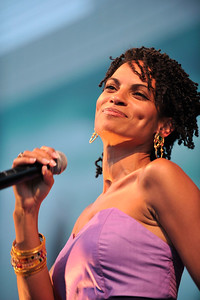 BHCP Live Summer Concerts SeriesPresents Goapele in the Oudoor Promenade of the Baldwin Hills Shopping Center on July 19, 2011. Valerie Goodloe