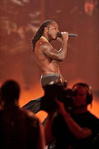 "BET  AWARDS ""11"" Show held at the Shrine Auditorium on June 26, 2011. Rick Ross,Ace Hood,DJ Khaled, Lil Wayne Valerie Goodloe"