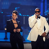 2009 American Music Awards held on Sunday November 22, 2009 at the Nokia Theatre l.A. Live.<br /> Show<br /> Alicia Keys and Jay z