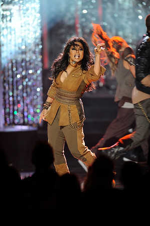 2009 American Music Awards held on Sunday November 22, 2009 at the Nokia Theatre l.A. Live. Show Janet Jackson