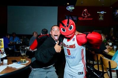 Maine Red Claws NBA Draft Party. 6/26/2014. Buffalo Wild Wings, South Portland, Maine.