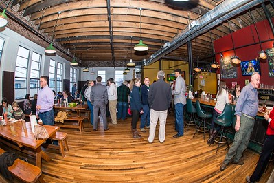 Maine Red Claws NBA D Basketball 2013-14 Season Ticket Holder and Player Dinner at Salvage BBQ in Portland Maine. 919 Congress Street, Portland Maine. 3/19/2014. Photo: Michael McSweeney.