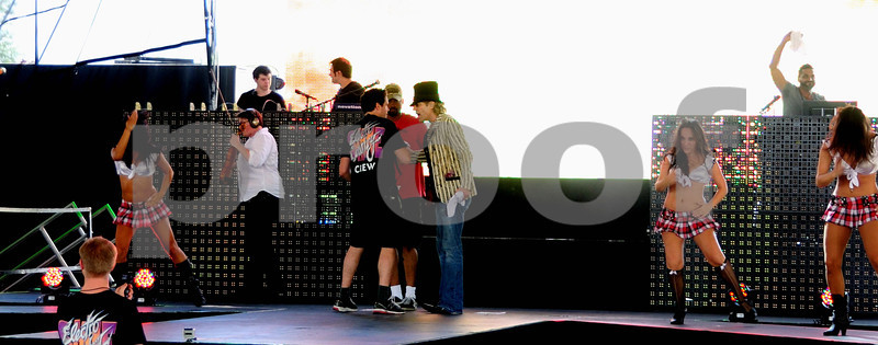 ELECTRO COUNTRY SHINE W/BIG KENNY REHERSAL @ COUNTRY THUNDER 7/19/2012
