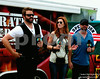 RANDY HOUSER AWARDS THE LATEST OPERATION HOMEFRONT RECIPIENT DURING A TAPING OF HOT 20 @ COUNTRY THUNDER 2014