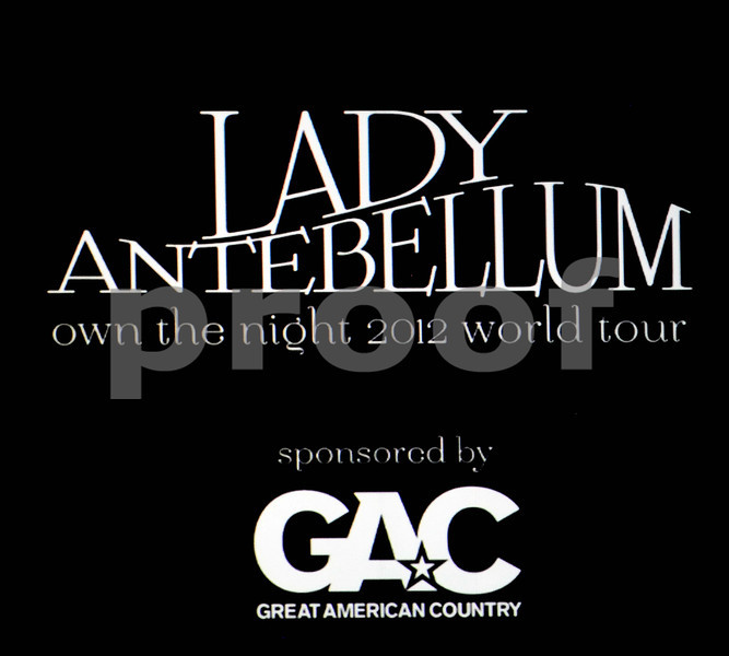 LADY ANTEBELLUM @ ALLSTATE ARENA 3/09/2012
