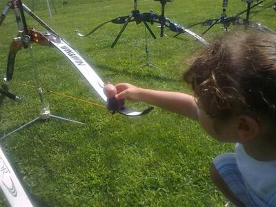 La Peppa incontra il tiro con l'arco